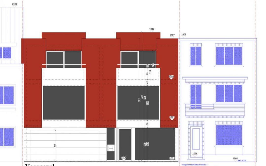 Appartementsbouw Zwijndrecht